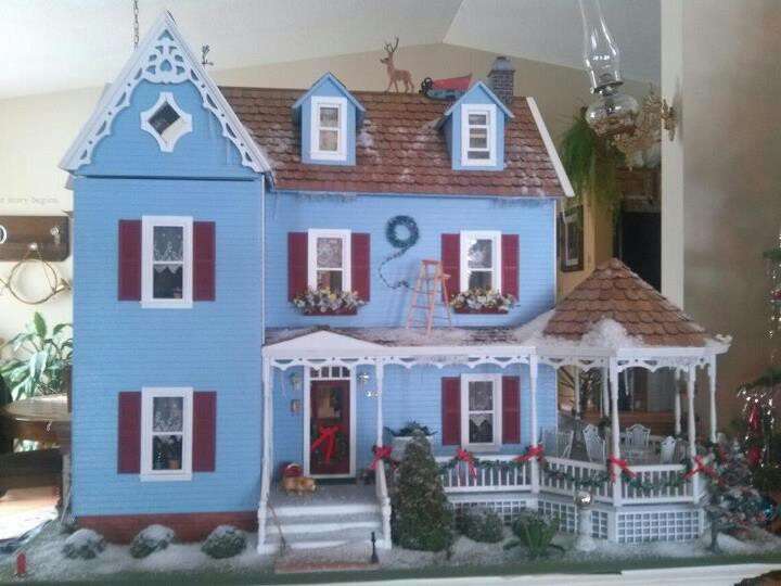 I Couldn T Resist This Vintage Colonial Dollhouse From The: 1000+ Images About Dollhouse Miniatures That I Find