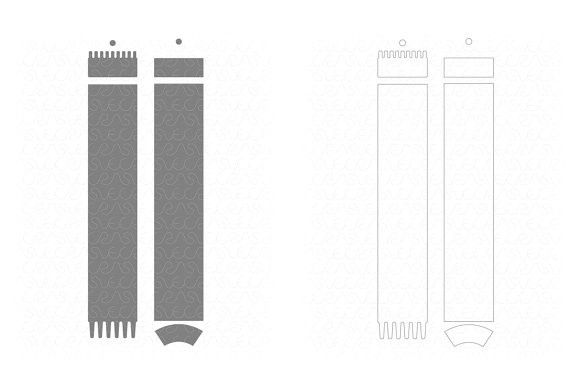 SVG CNC Templates for cutting or machining Apple Pencil 1 Plotter Lasers Digital Download Total Full Wrap