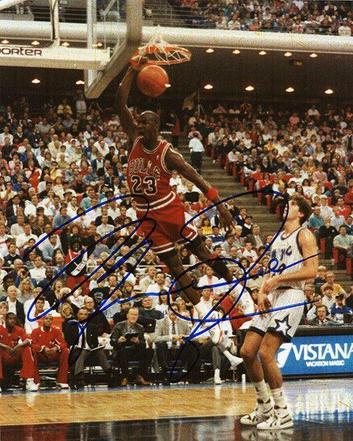 NBA Legend Michael Jordan Autograph Hand Signed Photo COA