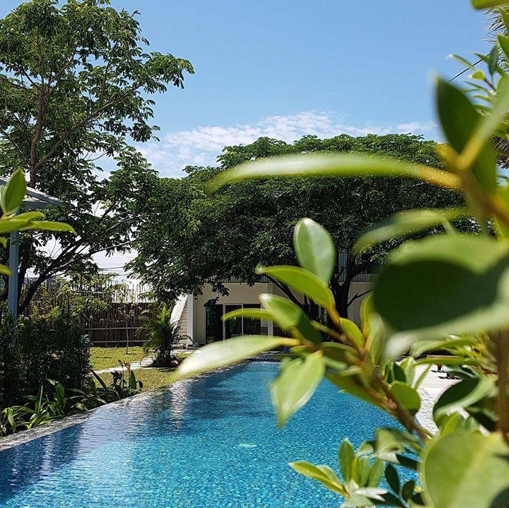 Kampot hotel with pool #pippali