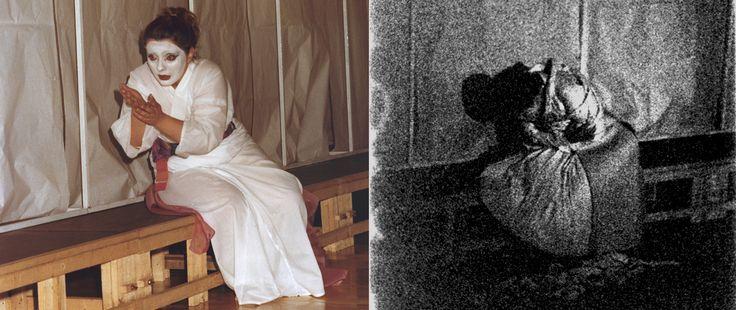 LA DONNA VIOLENTATA -                                                  bn: Scene, costumi e luci di Renato Morselli. col: Costumi di Sakura Fujita, scene e nuove luci di Renato Morselli