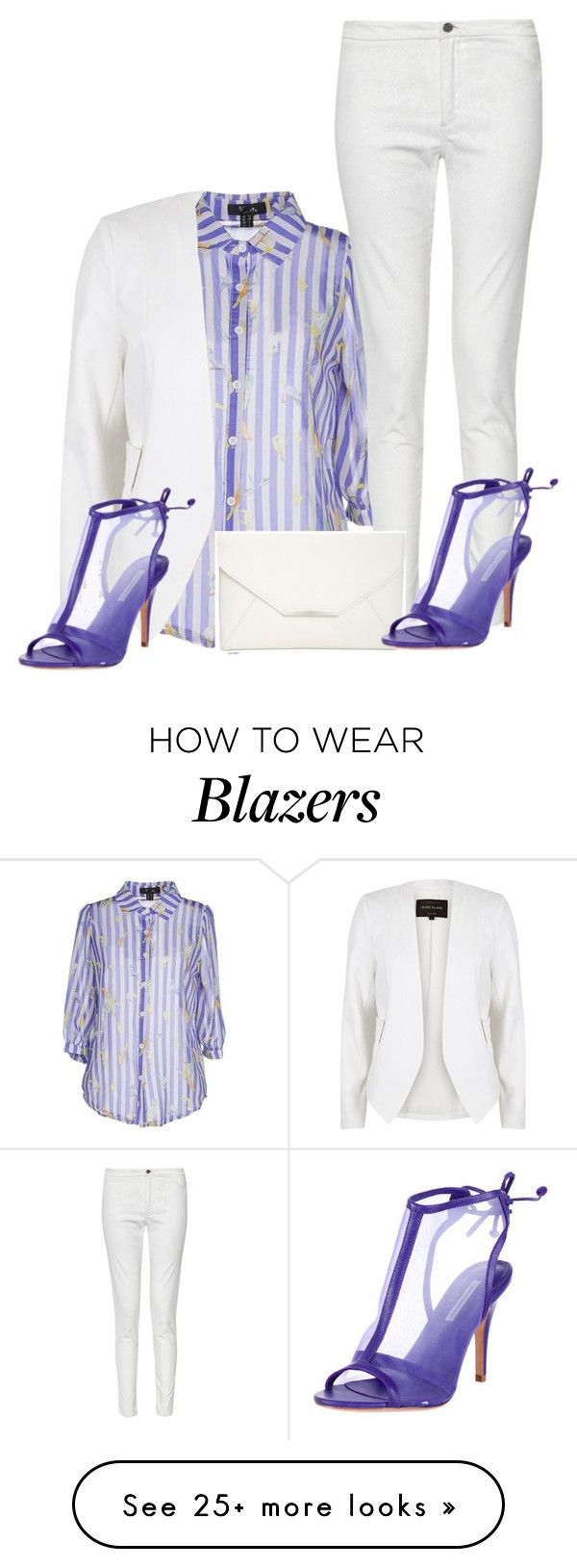 """""""Untitled #6525"""" by tailichuns on Polyvore featuring Cutie, River Island, French Connection, Style & Co. and Kathryn Amberleigh"""