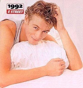 Simon Baker - E Street promotional poster 1992