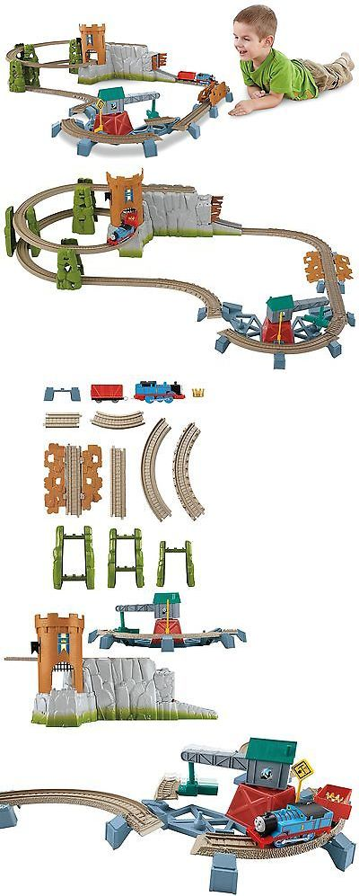 Train Sets 113519: Thomas The Train: Trackmaster Castle Quest Set -> BUY IT NOW ONLY: $118.3 on eBay!
