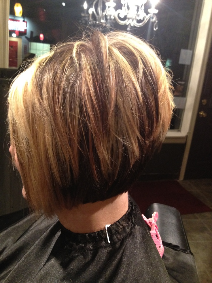Short Stacked Hairstyles 21 stacked bob hairstyles youll want to copy now Short Choppy Stacked Haircut
