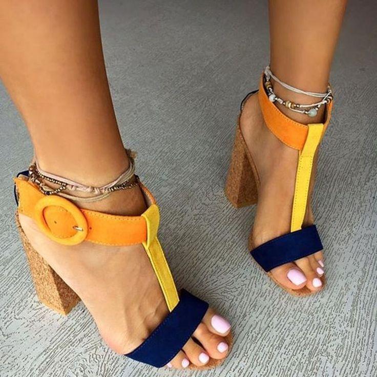 Shoespie Savvy Street Latin Style Dress Sandals