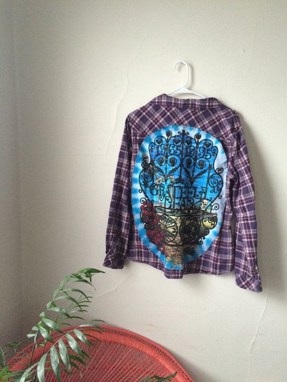 Grateful Dead Flannel veqfXv