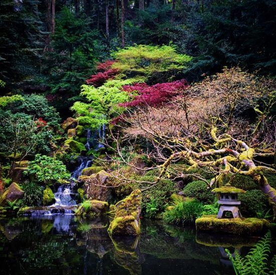 "Portland, Oregon's best ""hidden"" gem - it's the Zen garden in the Japanese garden in Washington Park."