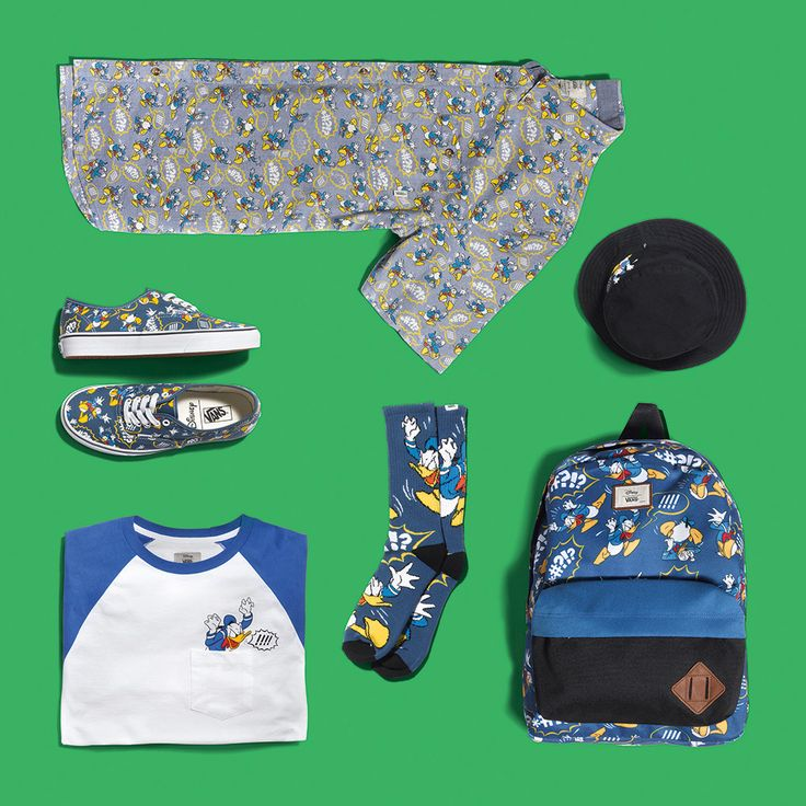 DONALD DUCK SHOES!! The+New+Disney+x+Vans+Collection+Is+Going+To+Be+Your+New+Obsession