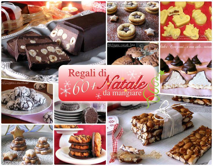 Regali+di+Natale+da+mangiare,+raccolta+di+più+di+60+ricette+dolci+da+regalare