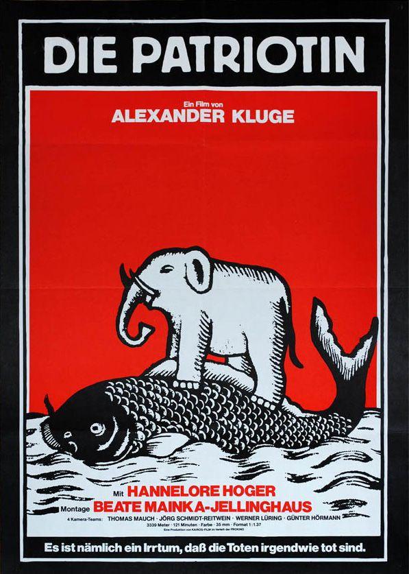 Die Patrioti , Deutschland 1979 - Regie: Alexander Kluge mit: Hannelore Hoger, Dieter Mainka, Alfred Edel