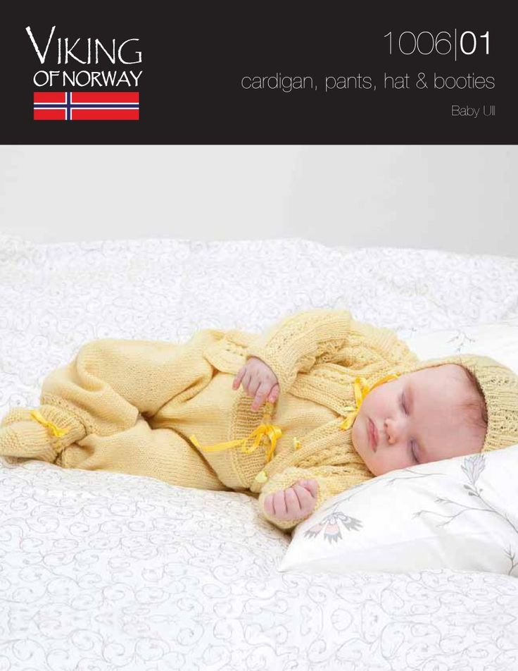 Baby Cardigan, Pants, Hat & Booties ⋆ Knitting Bee
