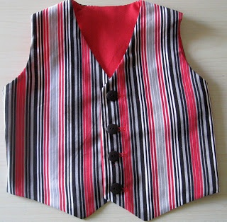 Vicki's Fabric Creations: Child's Vest Pattern and Tutorial Uploaded