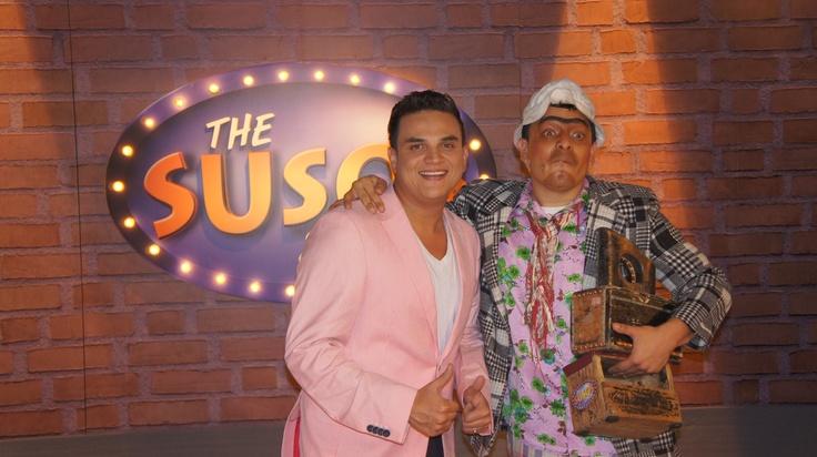 Silvestre Dangond en The Suso's Show.