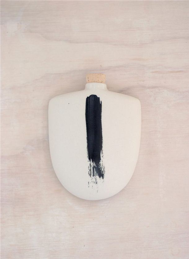 Taus Ceramics - Hip Flask