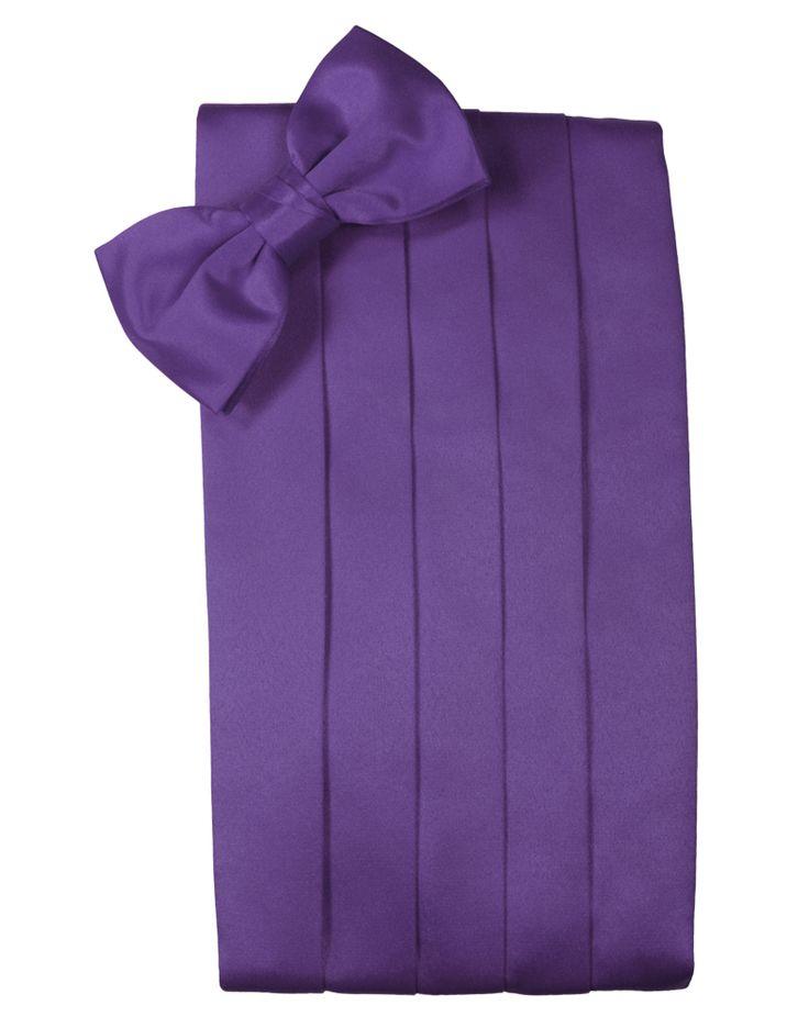 Freesia Purple Wedding Satin Cravat Mens /& Boys
