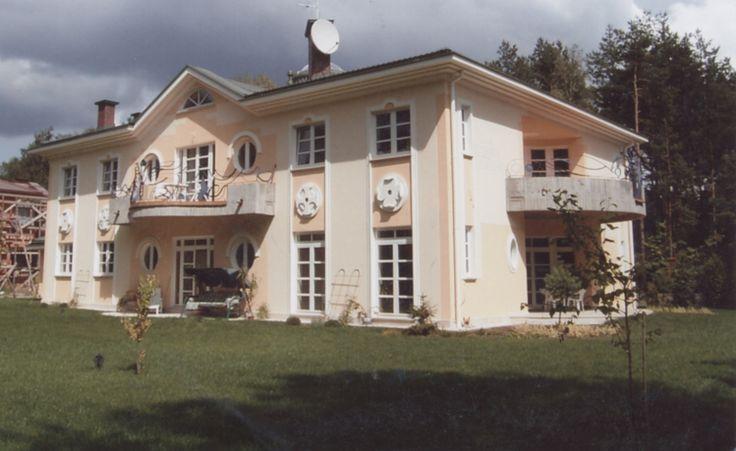 Le architetture di Romano Botti - Villa privata a Varsavia - con l'architetto Kalina Eibl