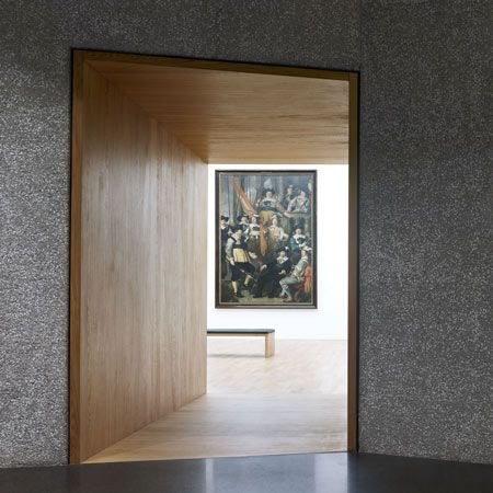 Beautiful frame inside the villa vauban extension by for Greentown villas 1 extension