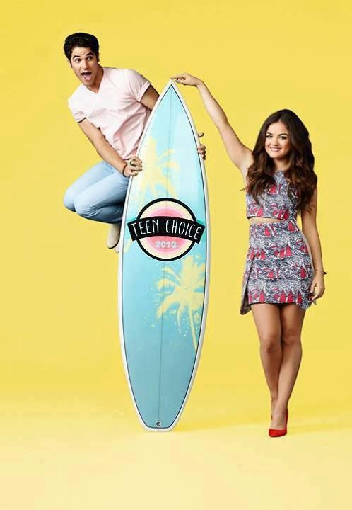 Darren and Lucy Hale will present the Teen Choice Awards 2013 on August 11th