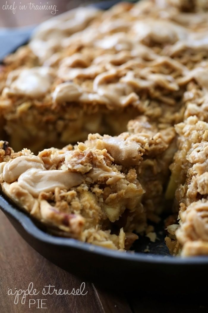 This Apple Streusel Pie is absolutely AMAZING! Take it from me- I am typically not a pie person, but I could not stop at just one slice! The flavor, texture and consistency is absolute perfection. And that Caramel Drizzle over top?… It is HEAVEN! If you are looking for the perfect fall dessert, the perfect …