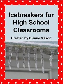 "$3.50 Reduce first-day-of-class stress and anxiety for your high school students with these icebreakers that are sure to enliven your class and boost morale. What better way to get to know your students than with such activities as ""Alike and Different,"" ""Musical Getting To Know You,"" ""Opposites Attract, Or Do They Really?,"" and ""Right Question, Wrong Answer."" These fun activities and many more engage each student and help create a positive learning environment in which all students can…"