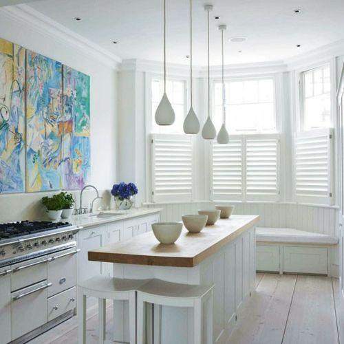 Nützliche Tipps für die kompakte Küche - modernes Interieur in Weiß