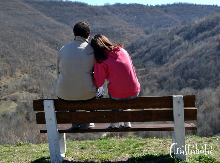 One of my favorite photos, taken by my mom at a trip we had together. Me and Dimitris enjoying the view :)