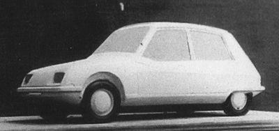 OG | Citroën Project F (then Project AP) | Mock-up