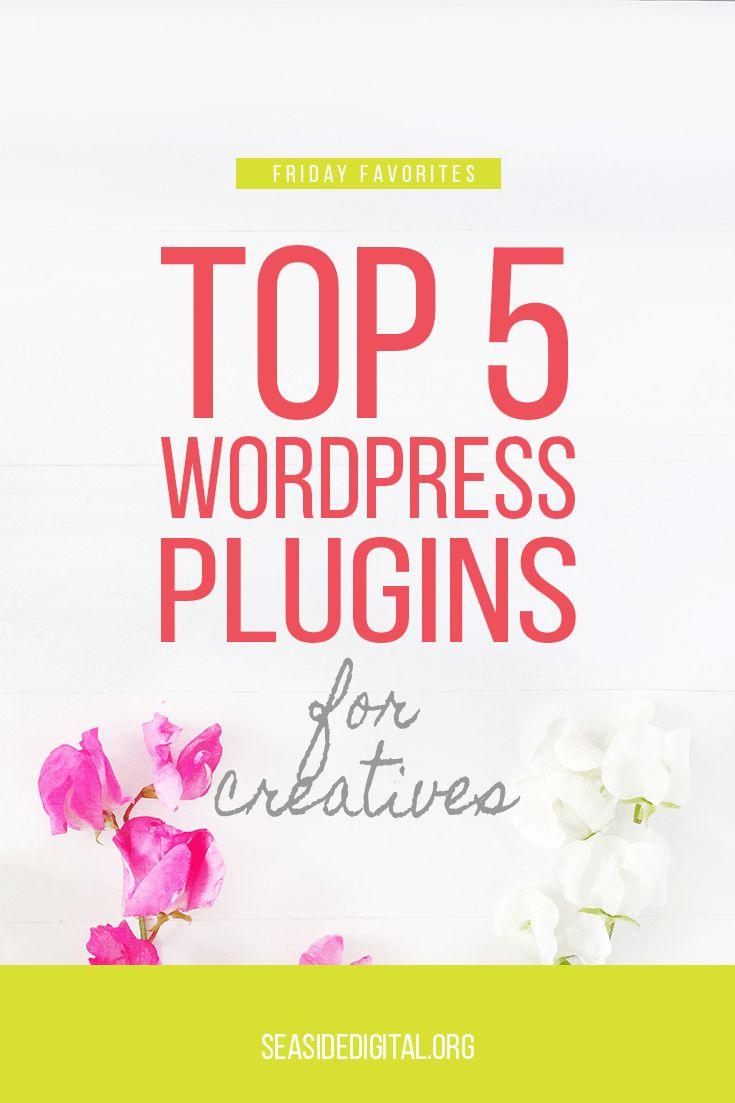 Top 5 WordPress Plugins for Creatives