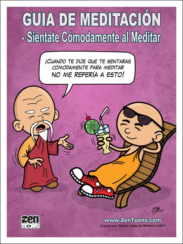 AFICHE ZENTOONS 02. Guía de Meditación. #zentoons #webcomics #zencomics #cuentoszen #historiaszen #zenpencil #espiritualidad #zen #budismo #meditacion