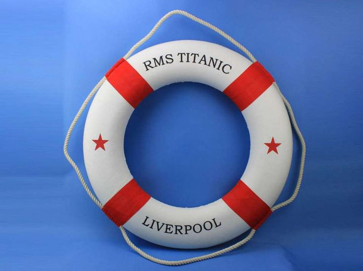 Authentic Titanic Life Ring