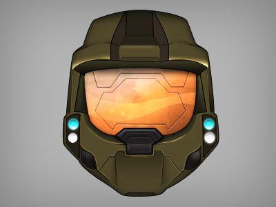 Master Chief Helmet Ps Juegos