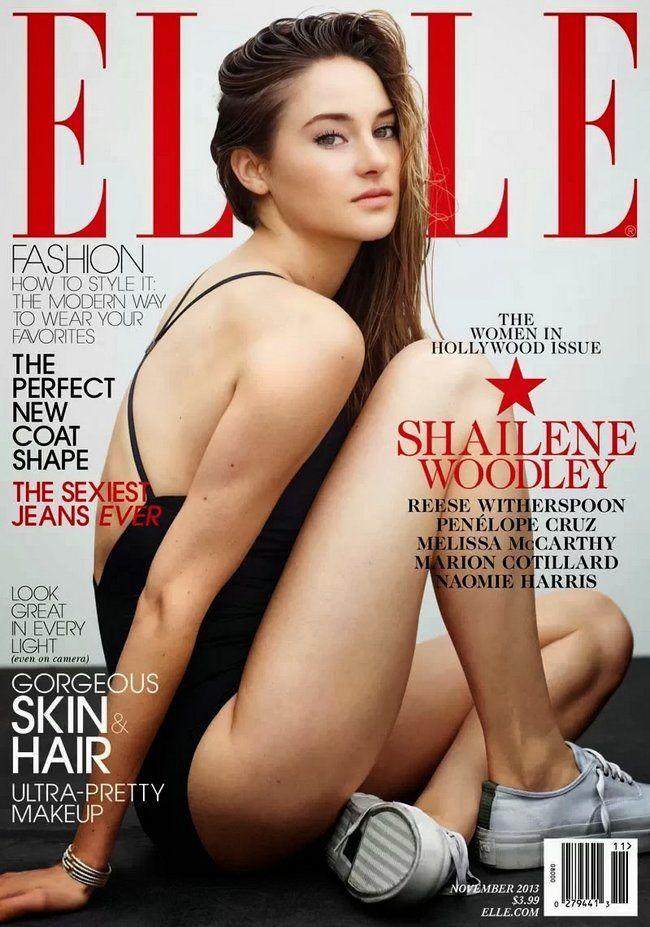 Shailene Woodley (2013.11. Elle) #ShaileneWoodley