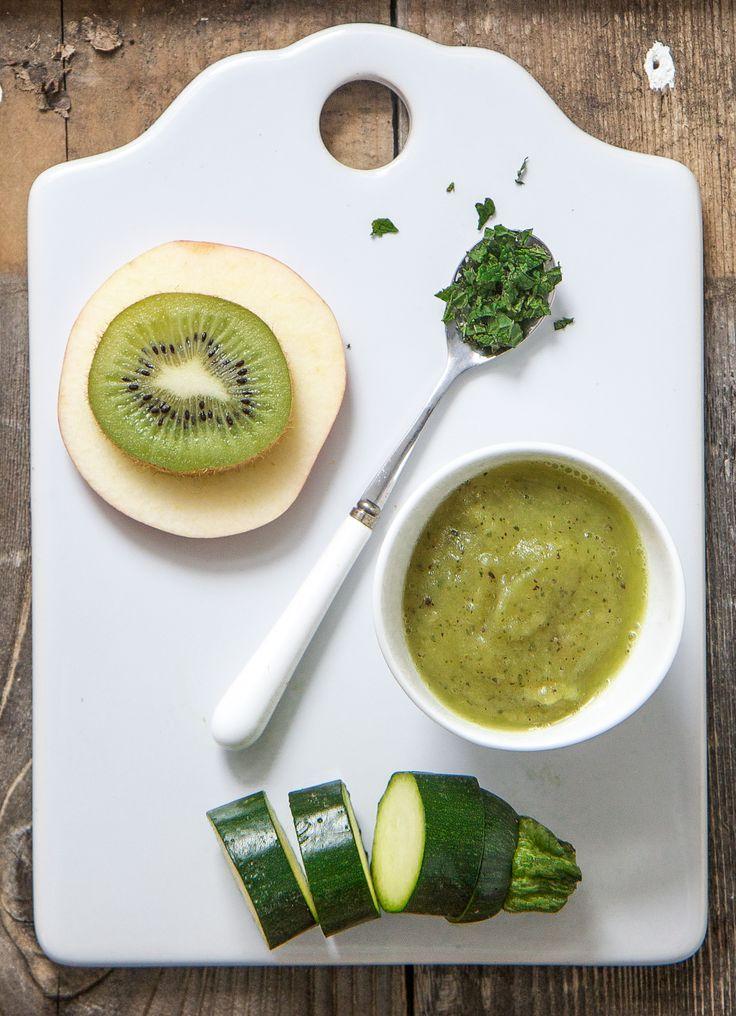 Zucchini Apple Kiwi