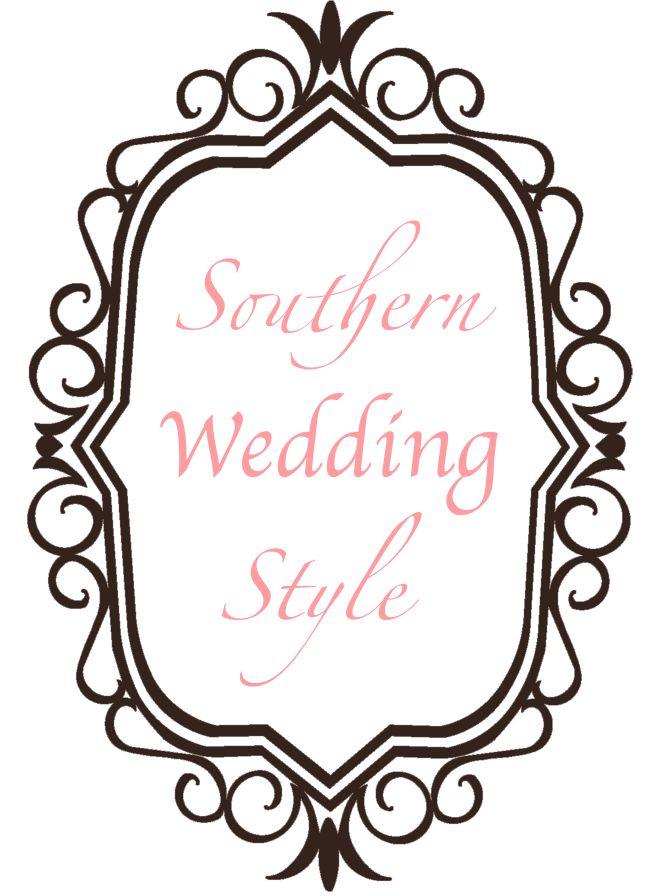 Southern Wedding venues, wedding food, wedding bargain deals, wedding DIY, wedding videos of the week, etc.