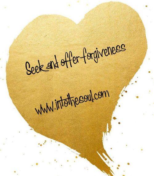 Seek and offer #forgiveness http://ift.tt/2huwGn2
