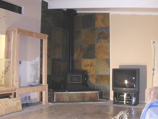 20 Best Images About Corner Fireplace On Pinterest