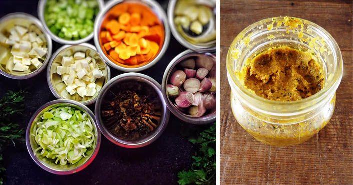 Recept na čerstvý zeleninový bujón - hrdinu každej kuchyne, ktorý dodá vášmu jedlu tu správnu chuť! najlepší domáci zeleninový bujón. Postup návod homemade