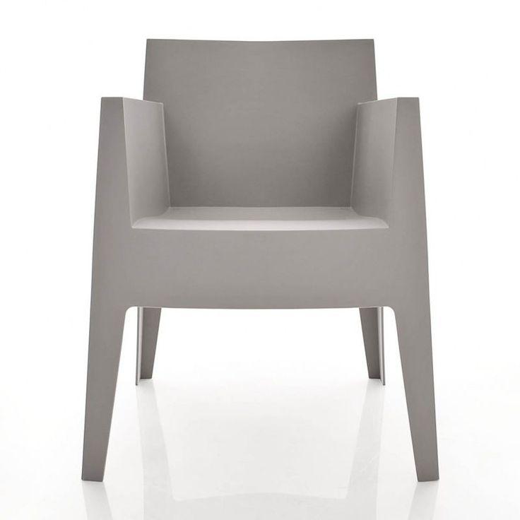 driade toy gartenstuhl grau g17mattpantone warm grey 4u garden chairswarm - Garden Furniture 4 U
