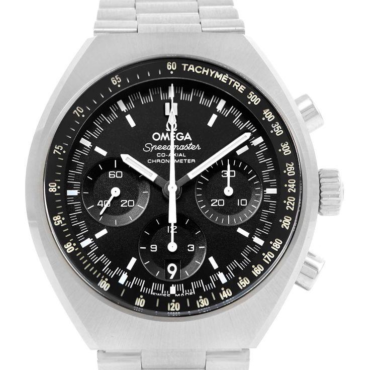 17136 Omega Speedmaster Mark II Co-Axial Watch 327.10.43.50.01.001 Unworn SwissWatchExpo