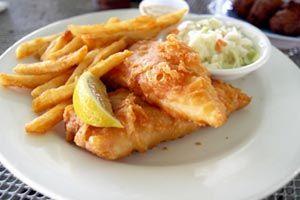 Traditional English Fish Batter Recipe   Traditional English Fish And Chips Recipe from CDKitchen.com