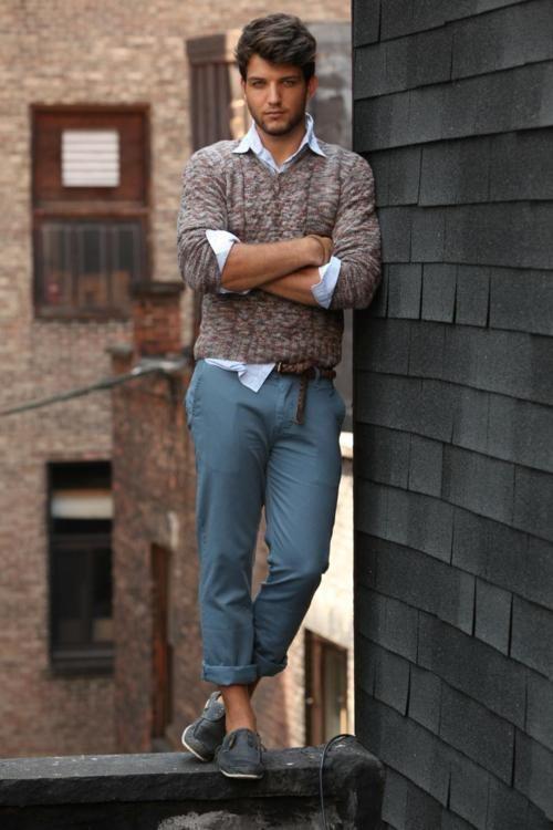 Blue pants :)