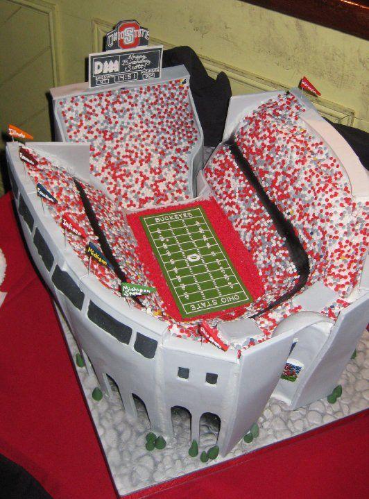 This cake is legit...O-H!