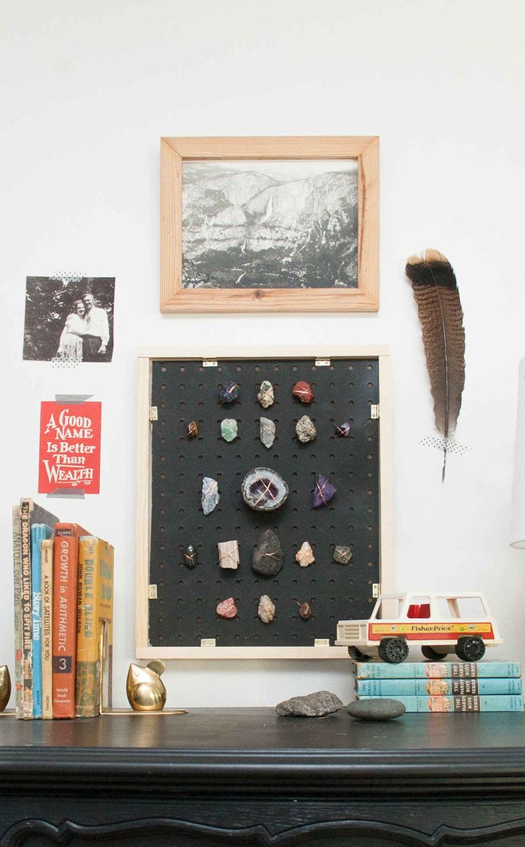 This little project is based on the arrowhead display I worked on with my dad in the girls' shared room at the farm. I just loved how it turned out, and I think it can be easily applied to displaying other collections as well, from rocks to shells, and it's a sweet way to commemorate […]