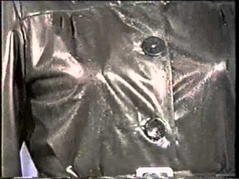 Rubber Mackintoshes and Capes - YouTube