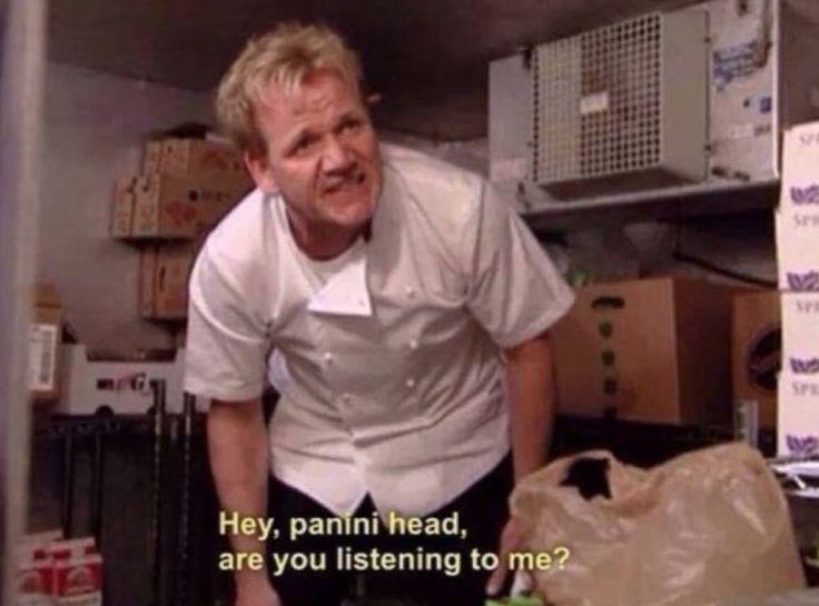 I love Gordon Ramsey