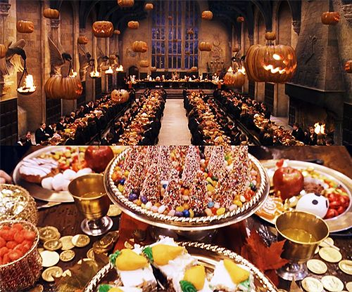 the charm of home hogwarts halloween feast - Hogwarts Halloween