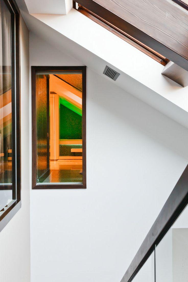 Apartments, Architecture Apartment Interior Design Glass Railings Curtain Glass Wall Tranparent Roof Glass Windows: Glamorous, Stunning Tran...