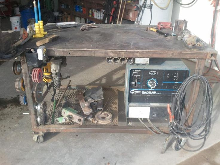 viewing a thread welding table ideas