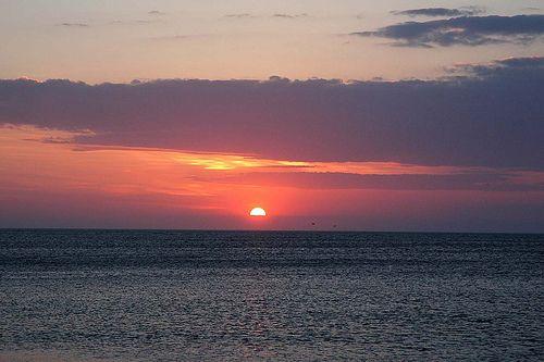 Sunset from Samothraki  